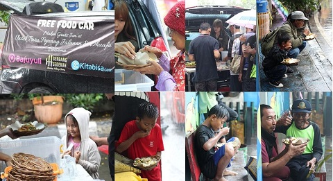 Kegiatan Jumat Free Food Car Day