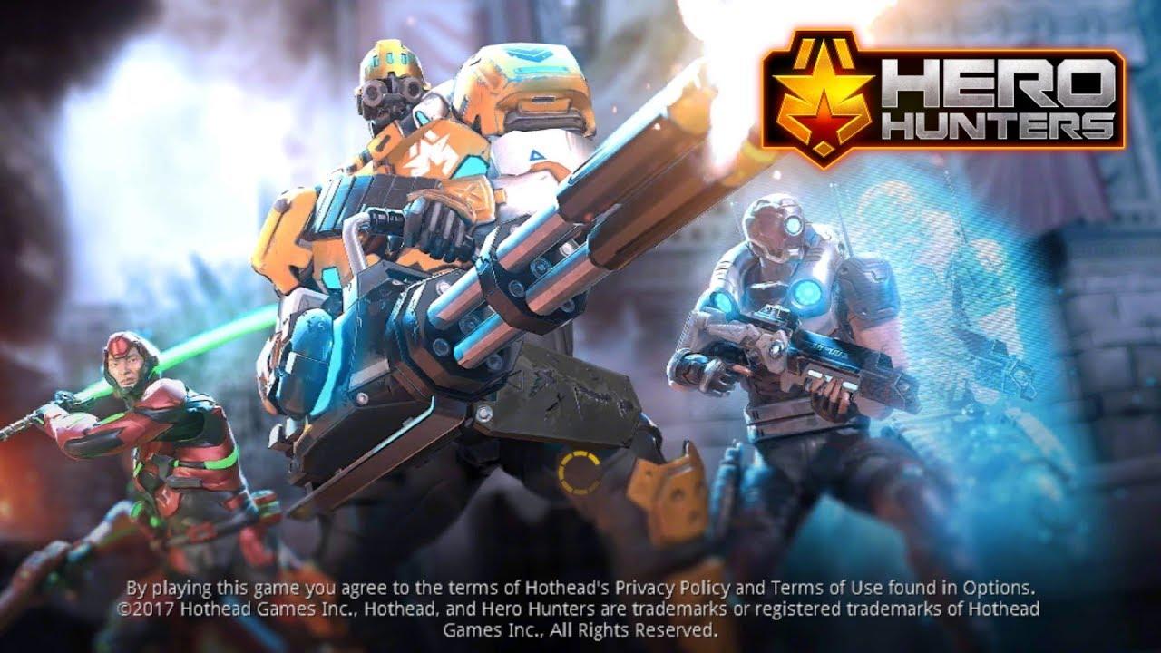 hero hunters mod apk latest version