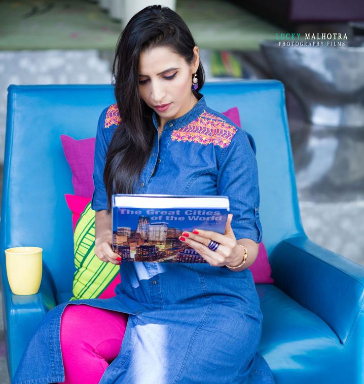Stylish By Nature By Shalini Chopra  India Fashion Style -3516