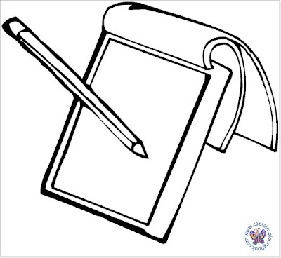 Notepad coloring page-2