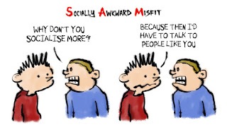 Socially Awkward Misfit - Talk