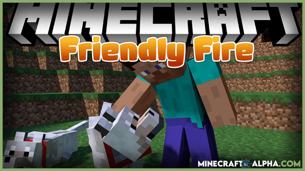 Minecraft Friendly Fire Mod 1.16.5 (Immortal Pets)