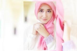 Cara Memakai Hijab Segi Empat Simple Ala Dian Pelangi Untuk Lebaran