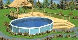 Free Deck Design Software Above Ground Pool Deck Plans