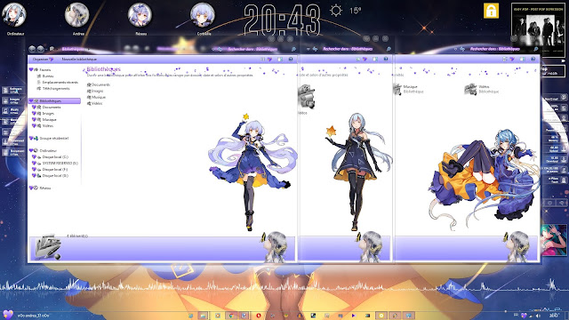 Stardust - Xingchen Theme Win 7 by Andrea_37