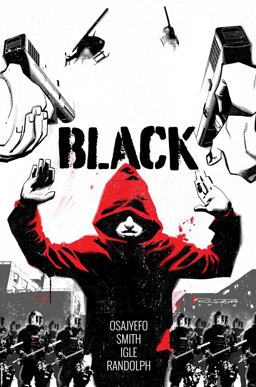 """Чёрный"", Black, комикс, Comic Book, фантастика, SciFi, супергерои, Super Heroes, комикс станет фильмом, экранизация, Studio 8 и Sony"