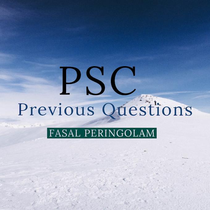 PSC PREVIOUS QUESTIONS - 24 - 9 - 2019 - QUESTIONS - 67 - 100