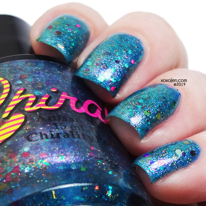 xoxoJen's swatch of Chirality Polish The 13th