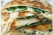 Vegan Spinach Artichoke Quesadillas