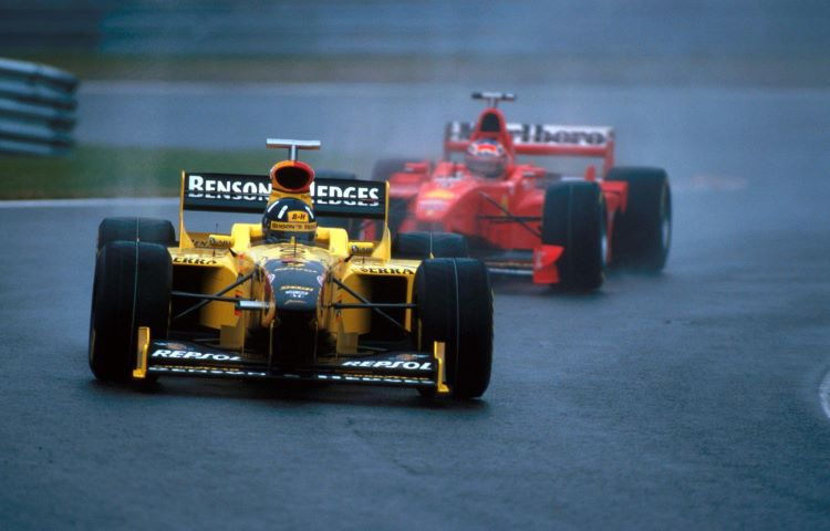 Damon Hill, Belgian Race 1998