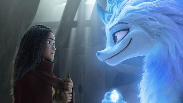 Raya y el último dragón - Raya y Sisu