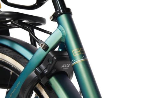 BSP mammafiets met AXA fietsslot