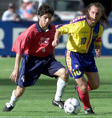 Ecuador y Chile en Clasificatorias a Corea/Japón 2002, 8 de octubre de 2000