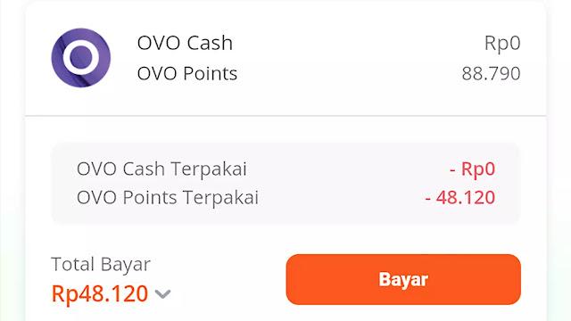 cara menggunakan ovo points di aplikasi tokopedia
