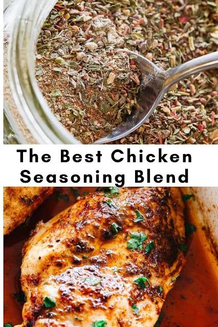 The BEST Chicken Seasoning Blend
