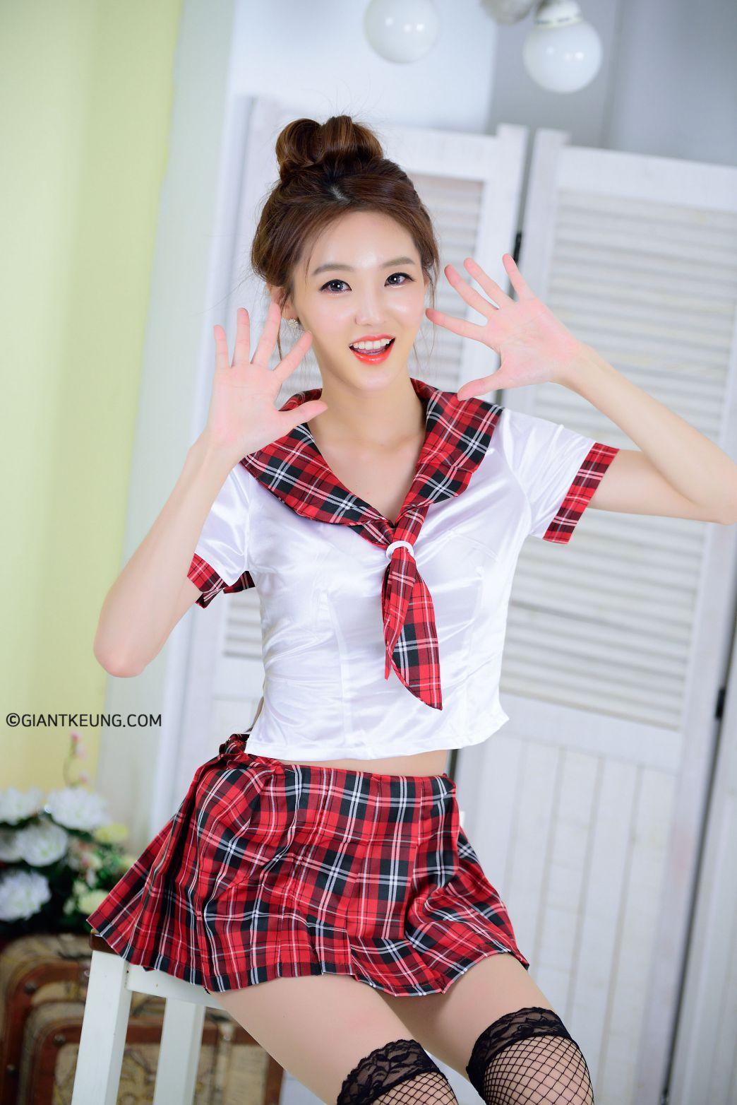 Jin Yu Ri (진유리) - 20170818 - 2 set Casual Indoor Photoshoot - TruePic.net