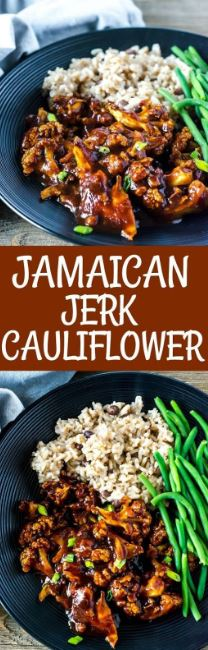 Jamaican Jerk Cauliflower