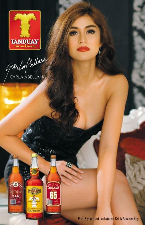 carla abellana sexy tanduay calendar pics 03