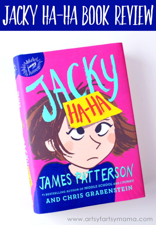 Jacky Ha-Ha Book Review at artsyfartsymama.com #HaHaBookClub
