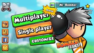 تحميل لعبة بومبر فريندز Bomber Friends مهكرة للاندرويد اخر اصدار، Download Bomber Friends Endless money for Android, the latest version، تحميل وتنزيل لعبة بومبر فريندز Bomber Friends مهكرة للاندرويد اخر اصدار وكاملة 2019،