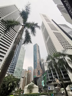 Republic Plaza de 280m. Singapur, Singapore.