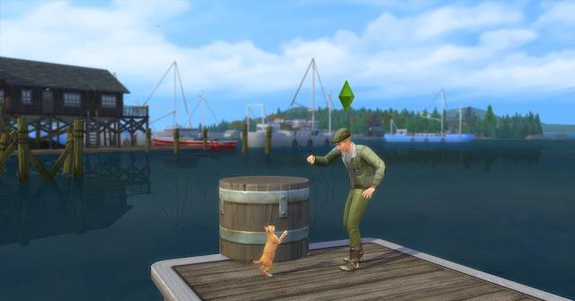 На рыбалку с Григорием Голубичко, или Дневник рыболова The Sims 4