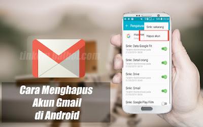 Menghapus akun gmail di android