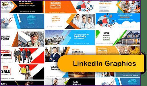 Linkedln Graphics Aucune compétence technique