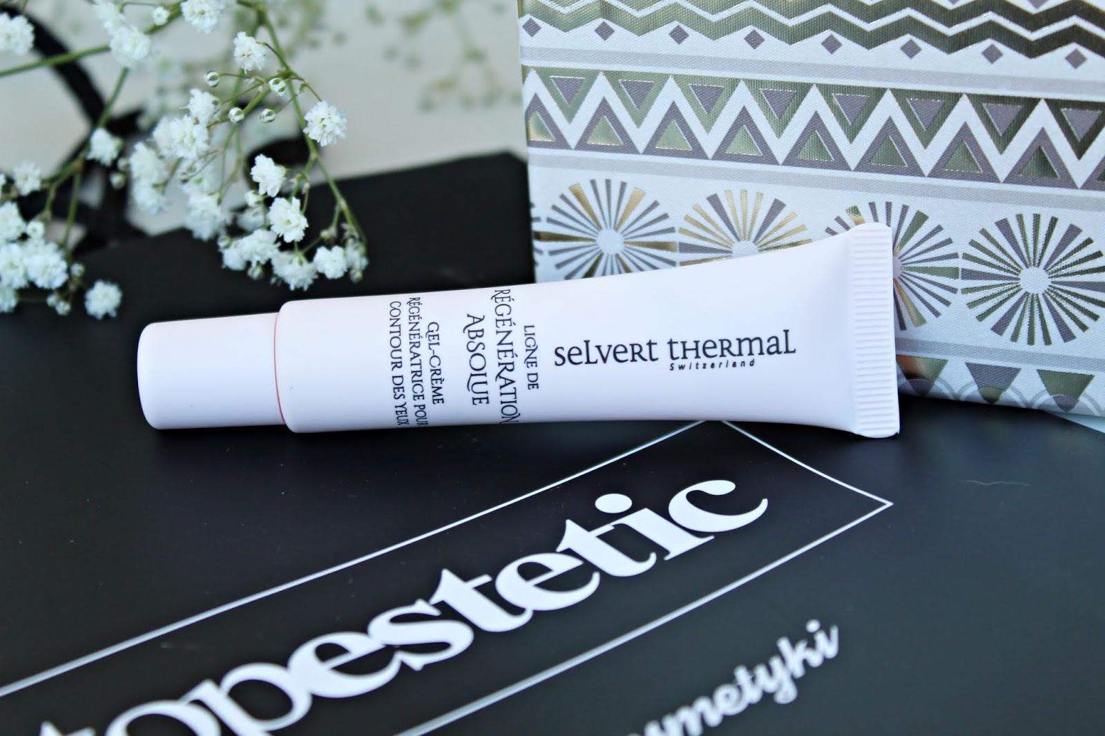 Selvert Thermal Regenerating Eye Contour Gel-Cream czyli Żel-krem regenerujący na okolice oczu z ekstraktem wydzieliny ślimaka