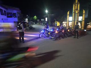Antisipasi Kejahatan di Malam Hari, Sat Sabhara Polres Enrakang Gencarkan Patroli