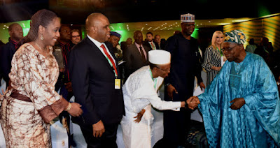 Drama As Obasanjo Rejects Front Row Seat At Event In Abuja