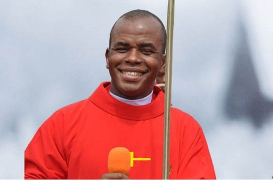 Fr. Mbaka Replies Garba Shehu, Warns The Presidency About Speaking Against The 'Man Of God'