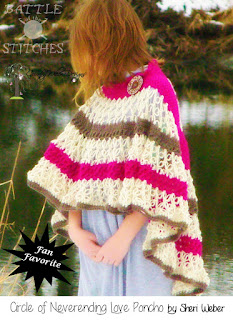 Never Ending Love Poncho by The Country Willow