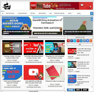 Giao diện Web Tin tức, web Cá nhân - Theme Blogspot  - Blogspotdep.com