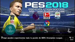 PES 2018 BETA by Tutoriales Bendezu PSP Android