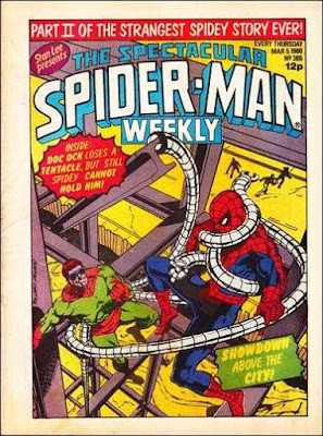 Spectacular Spider-Man Weekly #365, Dr Octopus
