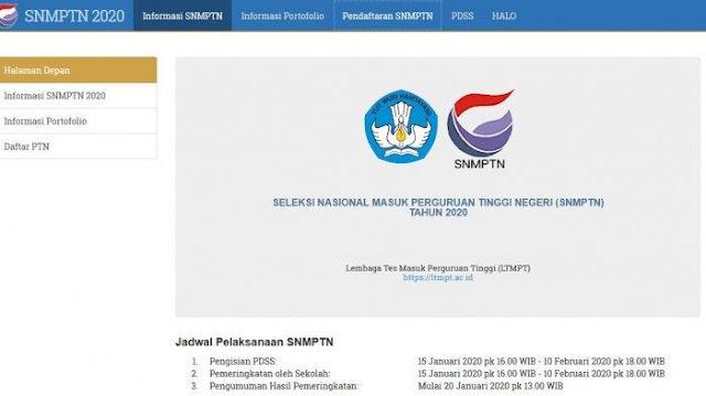Pendaftaran SNMPTN 2020 Sudah Dibuka, Ini yang Harus Diketahui Calon Pendaftar