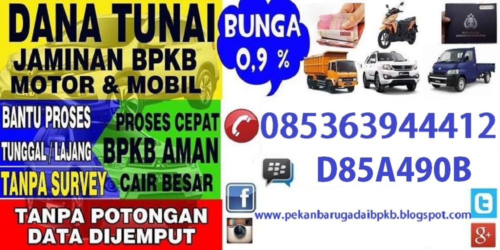 Gadai BPKB Motor Pekanbaru   Pinjaman Uang Jaminan BPKB ...