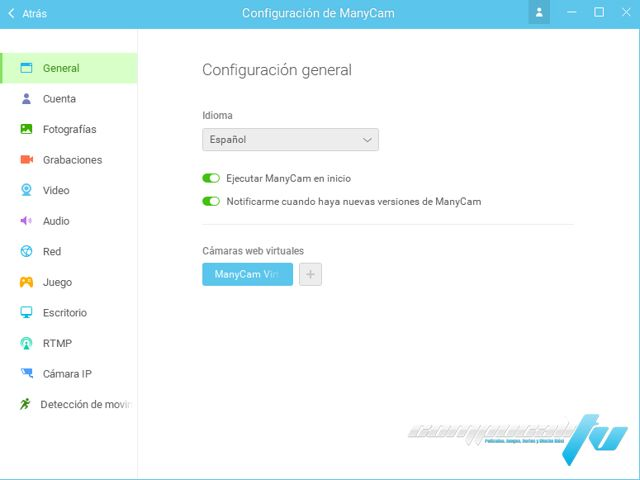 ManyCam Enterprise 5.5.0.12 Final Español