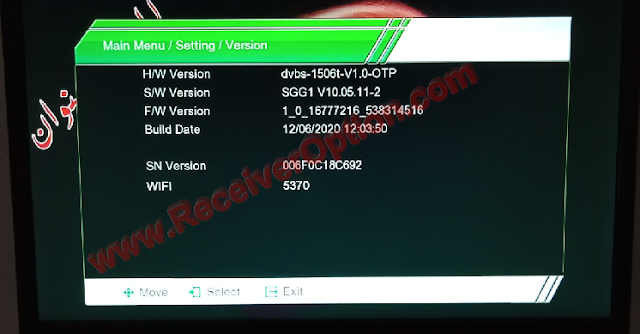 1506T 512 4M NEW SOFTWARE WITH CLASSIC PRO & CLASSICO IPTV OPTION