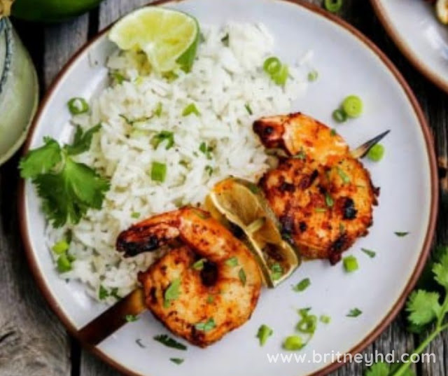 GRILLED MARGARITA SHRIMP RECIPE