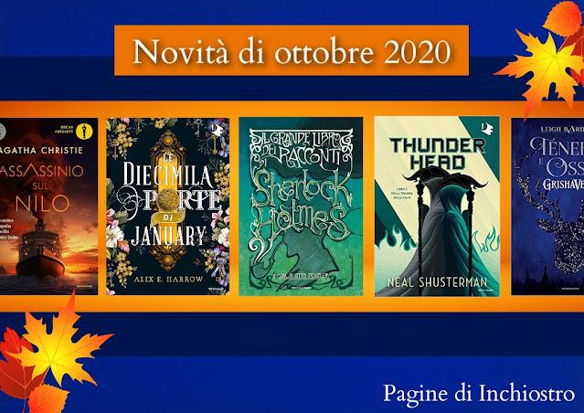 Uscite libri di ottobre 2020