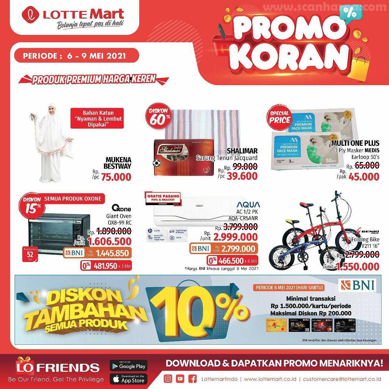 Katalog Promo Lottemart Weekend 6 - 9 Mei 2021 9