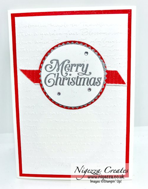 Snowman Season Christmas Card Stampin Up