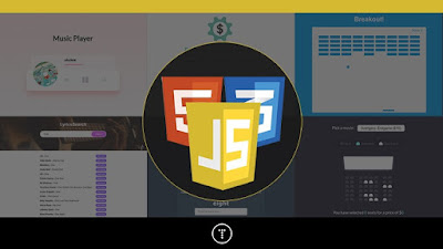 best JavaScript project course on Udemy