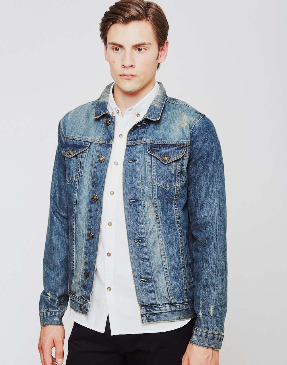 Men\'s Denim Jacket Style Guide | Fashion Dress in The Present