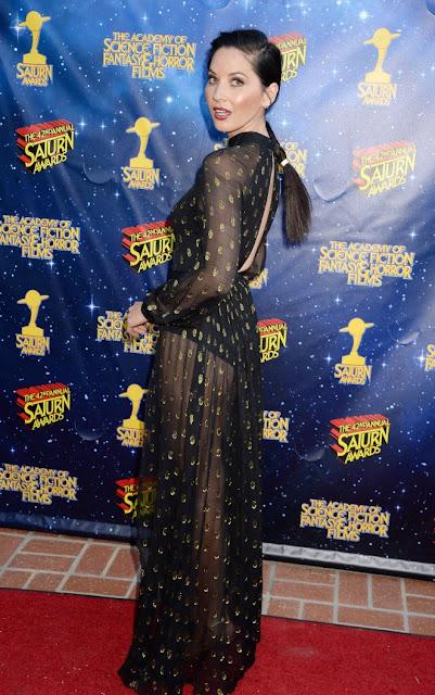 Olivia Munn – 42nd Annual Saturn Awards in Burbank