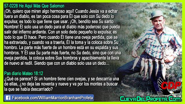 Cuando Él tiene una oveja perdida - William Branham en Español