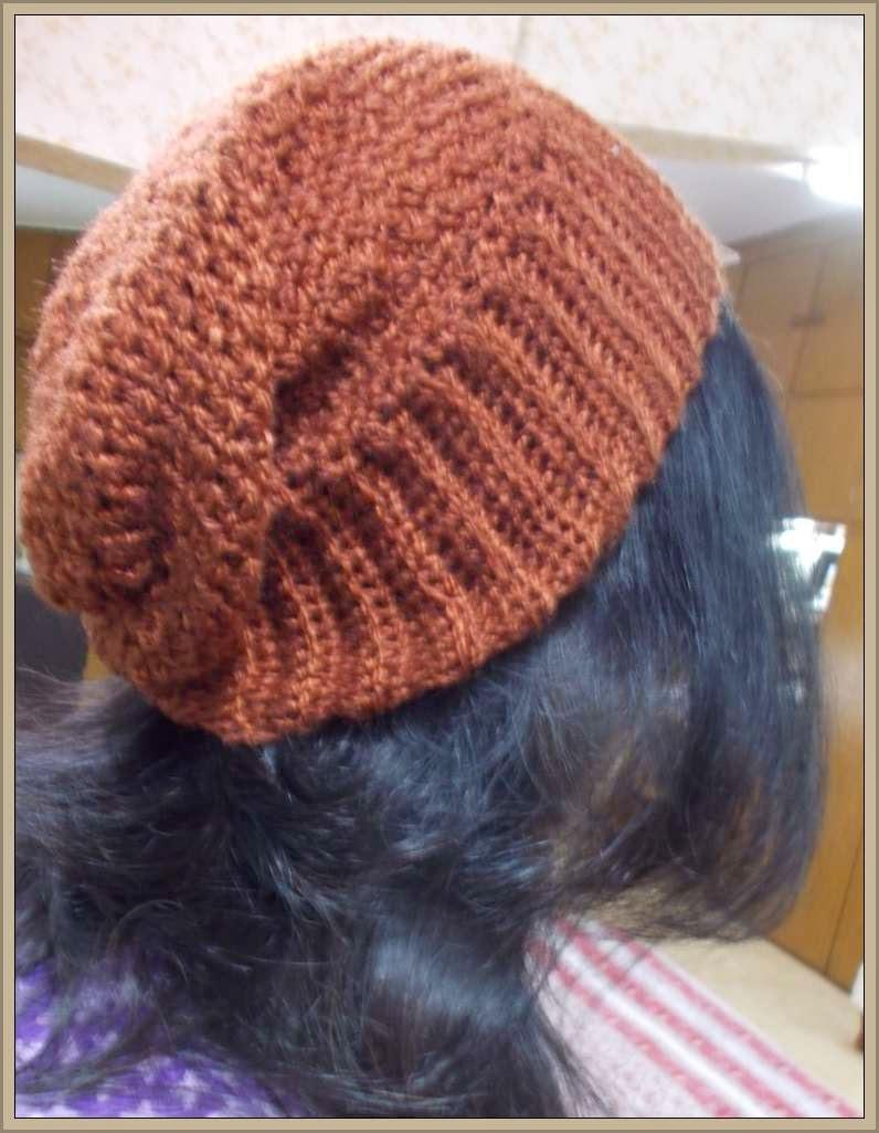 free crochet slouchy pattern
