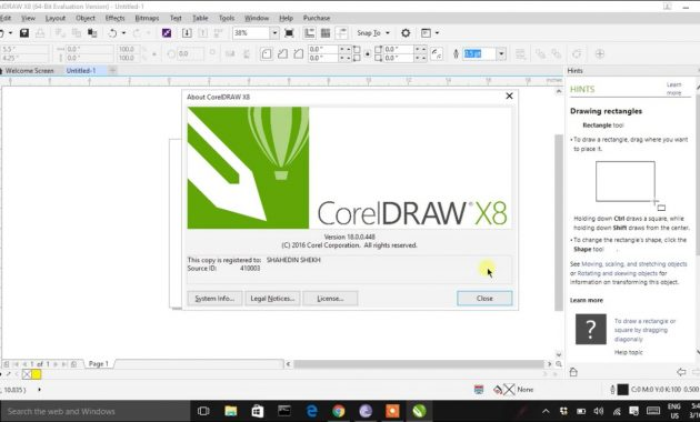 Cara Install CorelDraw X8 Full Version Gratis